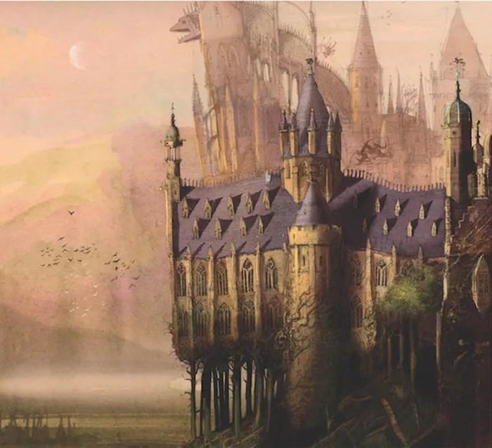 Hogwarts by Jim Kay IIHIH
