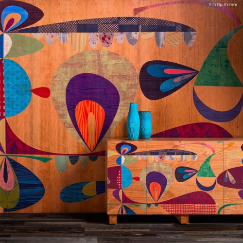 Read more about the article Artist Rex Ray for B+N Industries: Fabulous Wall Panels and Furniture