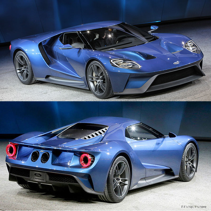 The All-New Ford GT Wins For Best Production Vehicle At