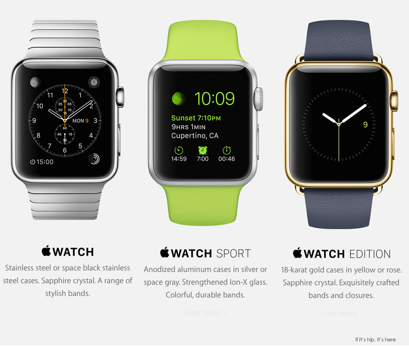 New 18k Gold Apple Watches In Various Styles and Colors ...