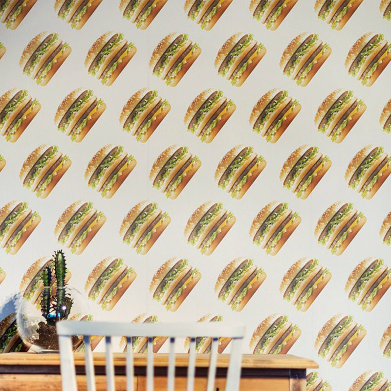 big mac wallpaper in situ