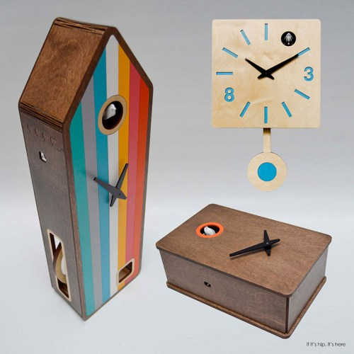 Read more about the article Pedro Mealha Makes Marvelous Modern Cuckoo Clocks