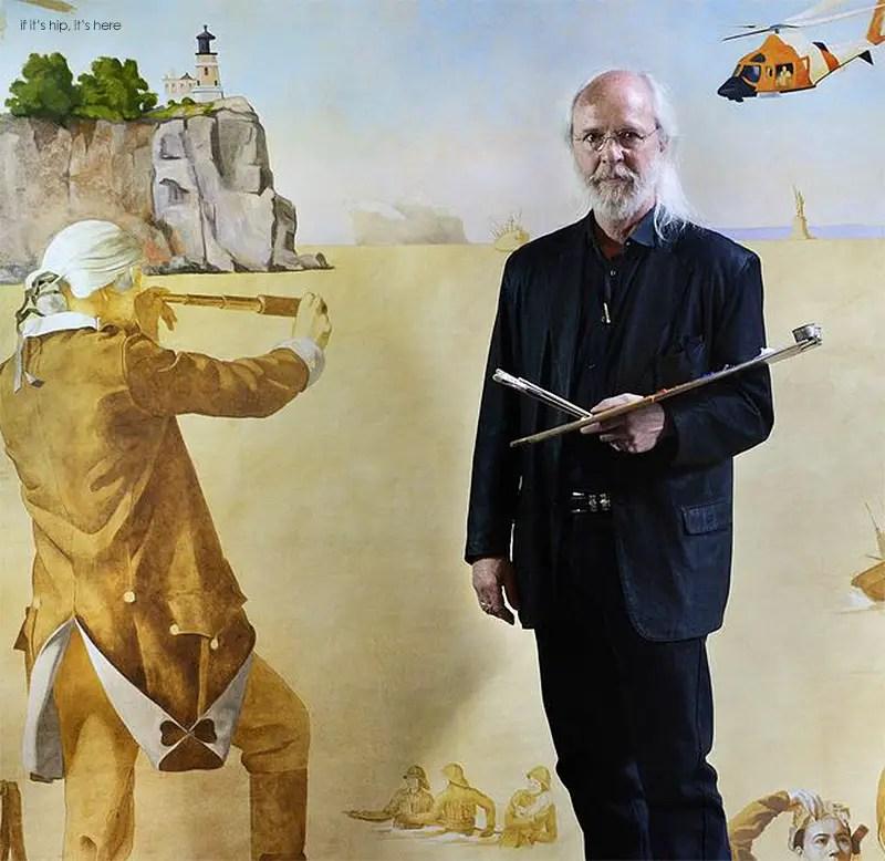 Military Tribute paintings by Charles Kapsner