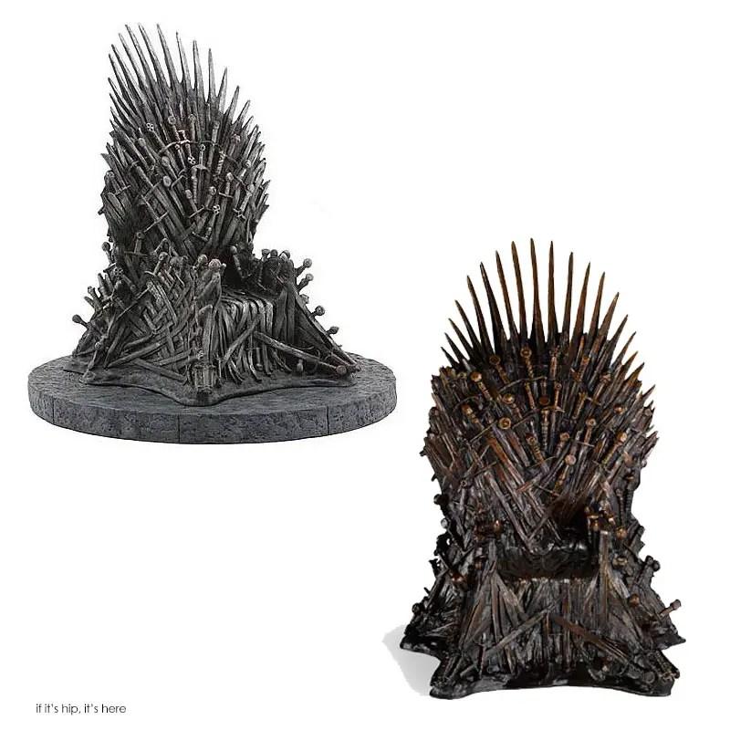 GoT iron throne replicas