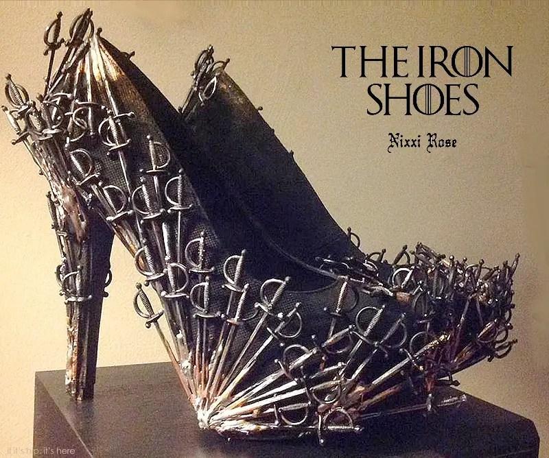 iron throne shoes hero IIHIH