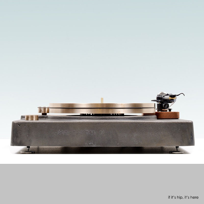 Cast Iron and Bronze Turntable