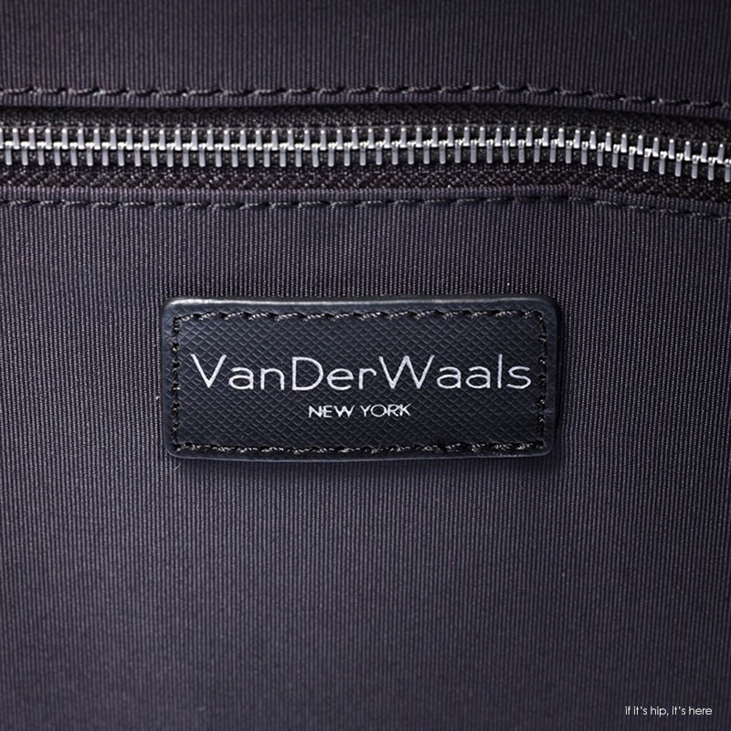 vanderwaals label in bag IIHIH