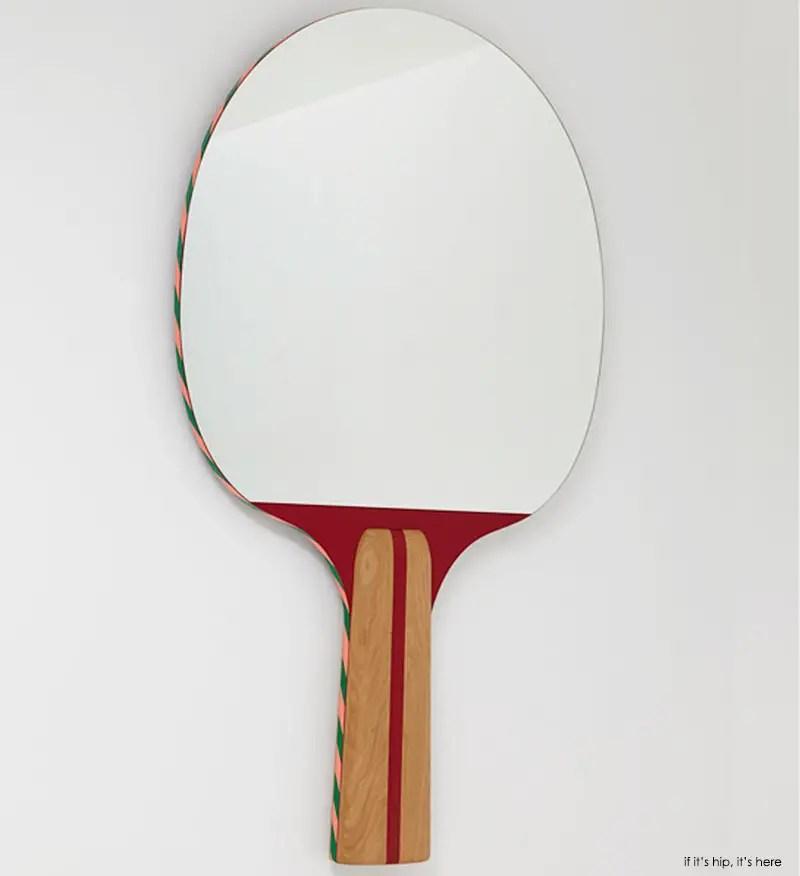 Big table tennis racket wall mirror IIHIH