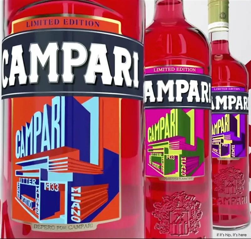 Campari 2015 Art Labels