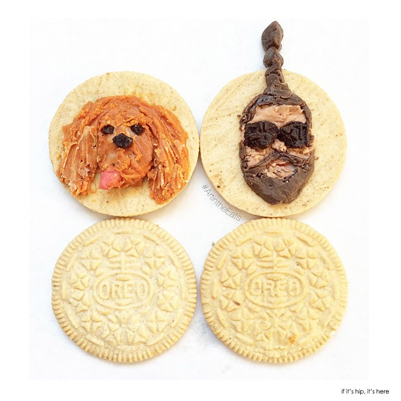 Oreos Become Canvas for Colorful Creme Art by Tisha Cherry. - if ...