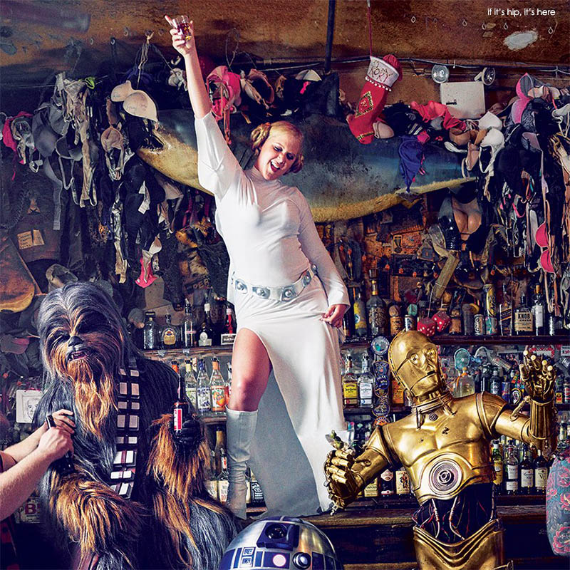 Amy Schumer as Star Wars Princess Leia for GQ  All The Photos  More  if its hip its here