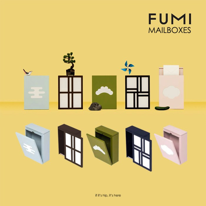 FUMI mailboxes