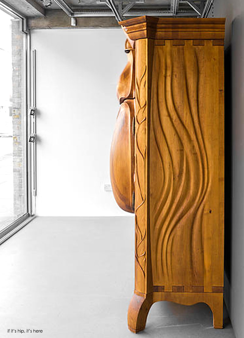 The Carved Beetle Cabinet by Janis Straupe - if it's hip ...