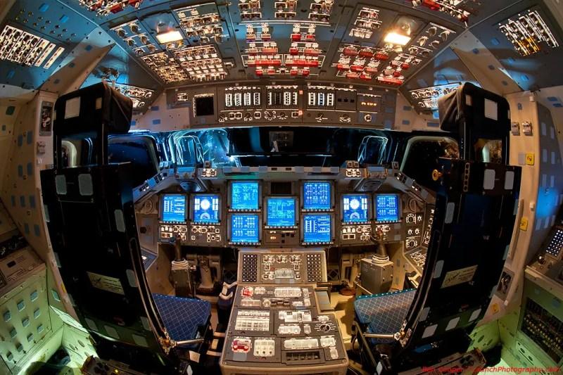 Space Shuttle Endeavour interior