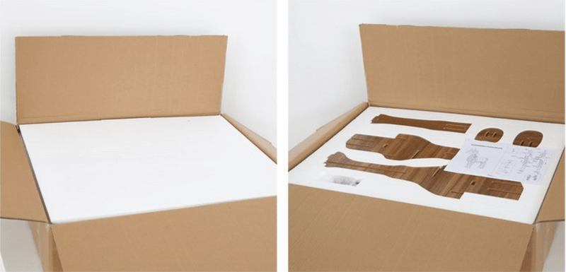 flat-packed