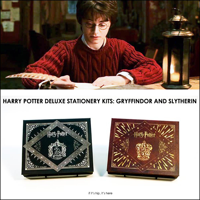 harry potter deluxe stationery kits