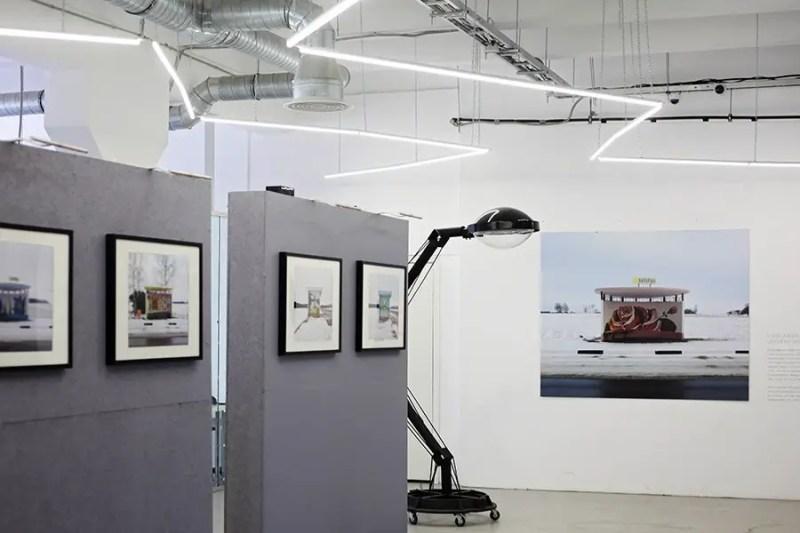 exhibit at Shtab