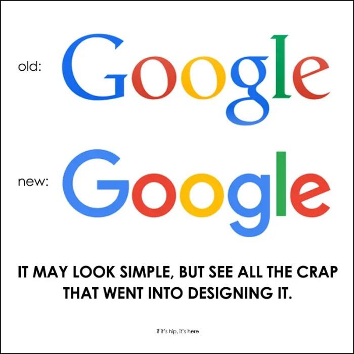 redesigning the google logo