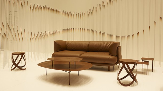 nendo Chocolatetexture lounge 4
