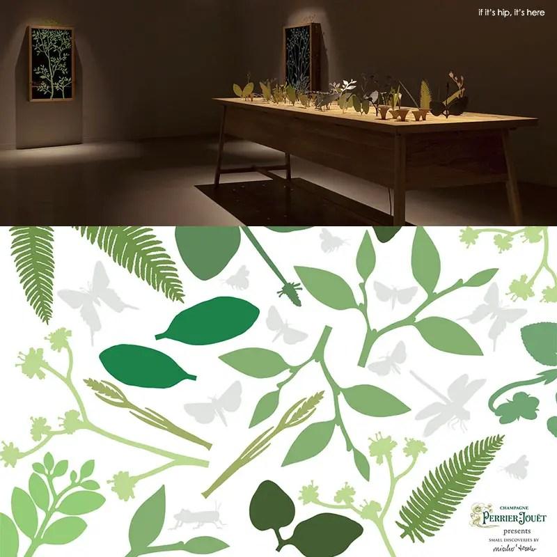 ephemera installation and art