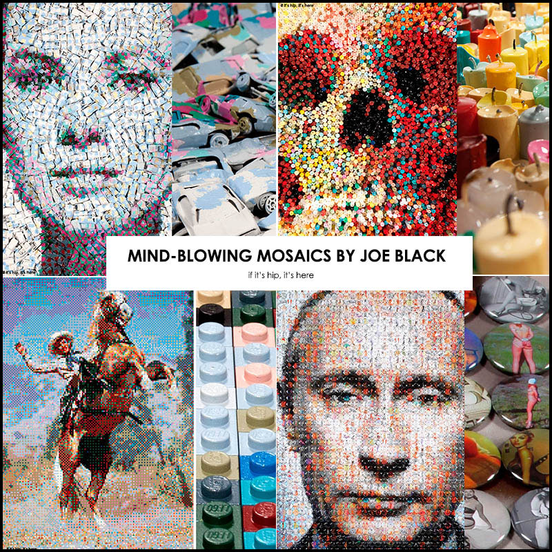 mosaics by Joe Black