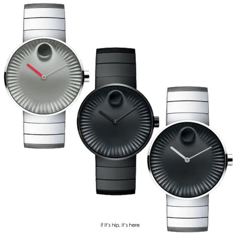 movado edge 40mm bracelet versions