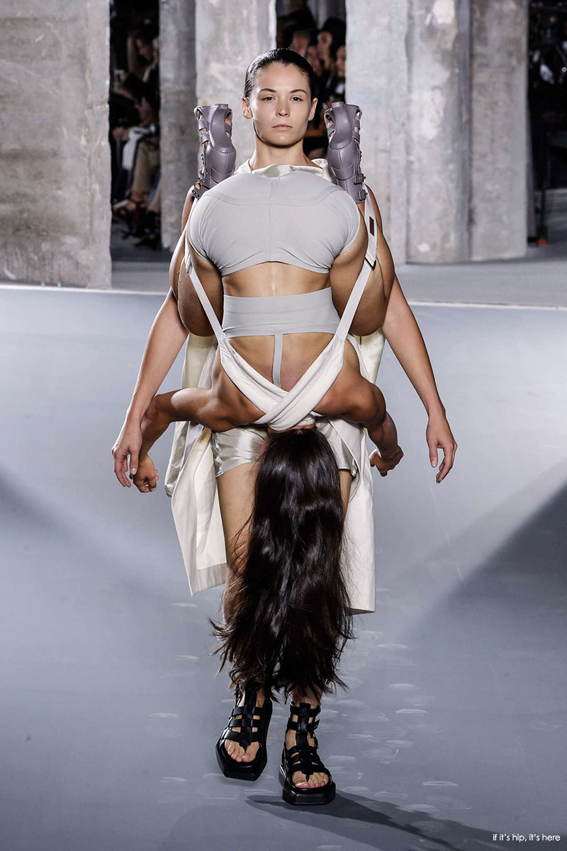 gymnasts as models for rick owens