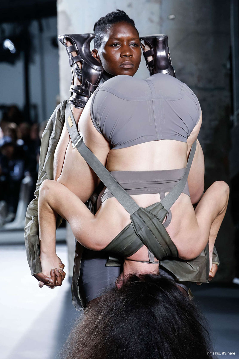 models harnessed to one an other