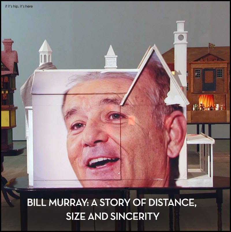 Bill Murray Brian Griffith Architectural Models exhibit