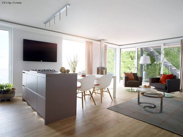 Eco-Friendly High-End Living That Floats: Rev House