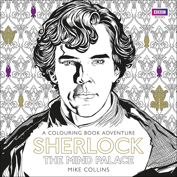 Sherlock Mind Palace Coloring Book Adventure