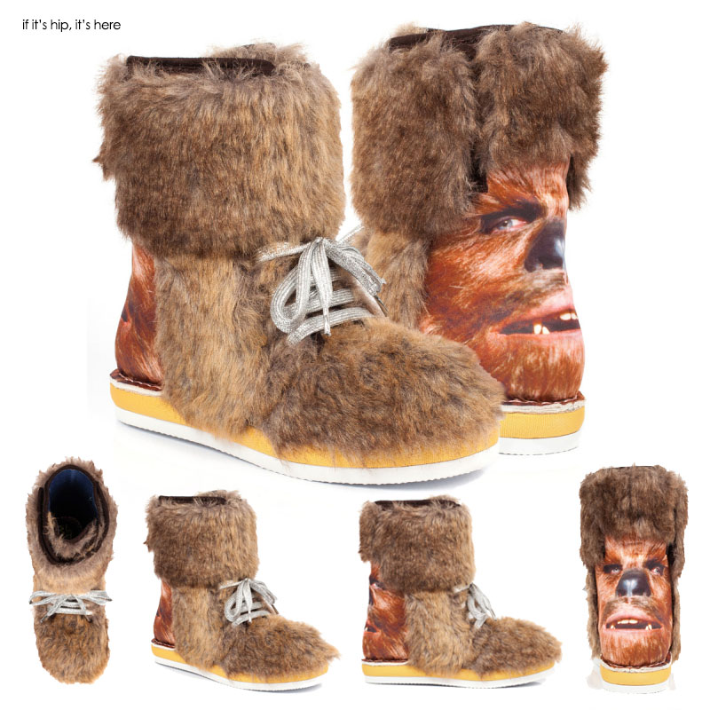 Star Wars Chewbacca Boots