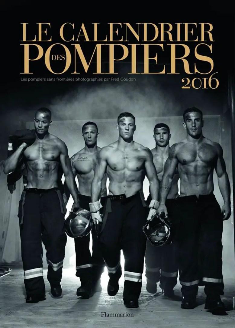 le calendrier pompiers 2016