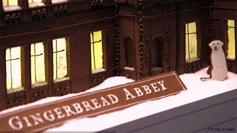 Gingerbread Abbey detail
