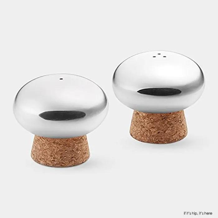 MoMA mushroom shakers