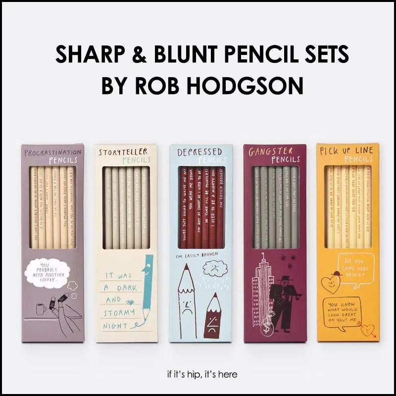 Sharp & Blunt pencil sets