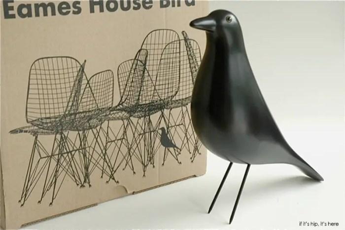 eames house bird and box
