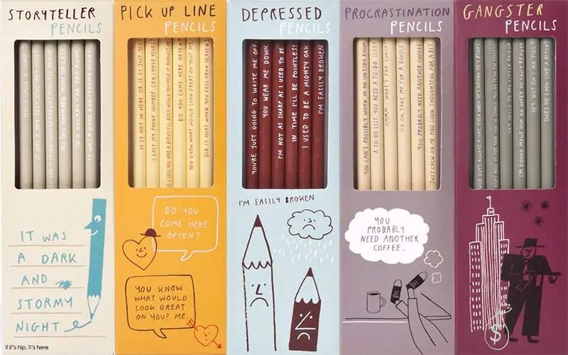 sharp & Blunt pencil set packaging1