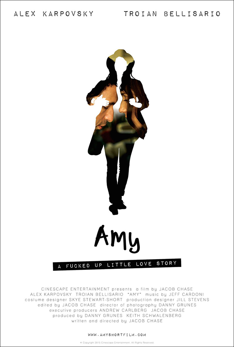 Amy poster by Sarah Ferber