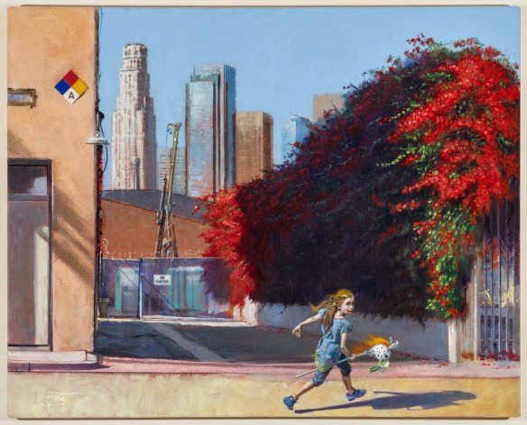 Artist David FeBland Depicts Urban Life In Los Angeles   if