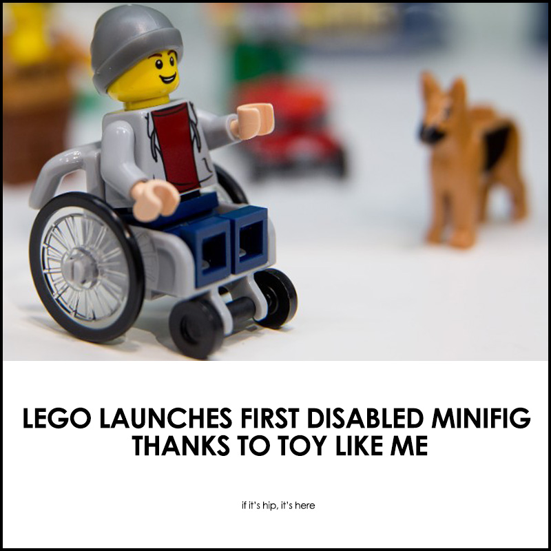 LEGO launches first disabled figure