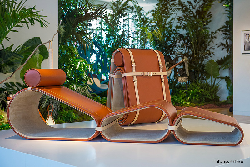 marcel wanders portable lounge chair for louis vuitton