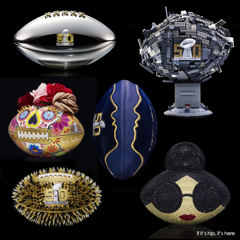 One-Of-A-Kind NFL Footballs