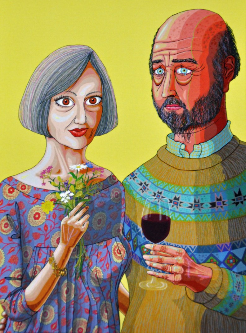 grayson perry, julie and rob tapestry