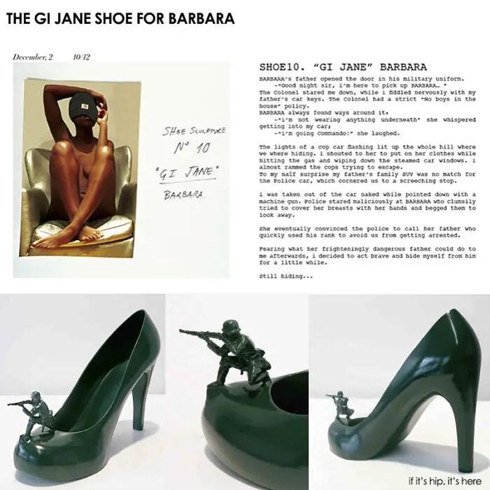 The GI Jane Shoe for Barbara