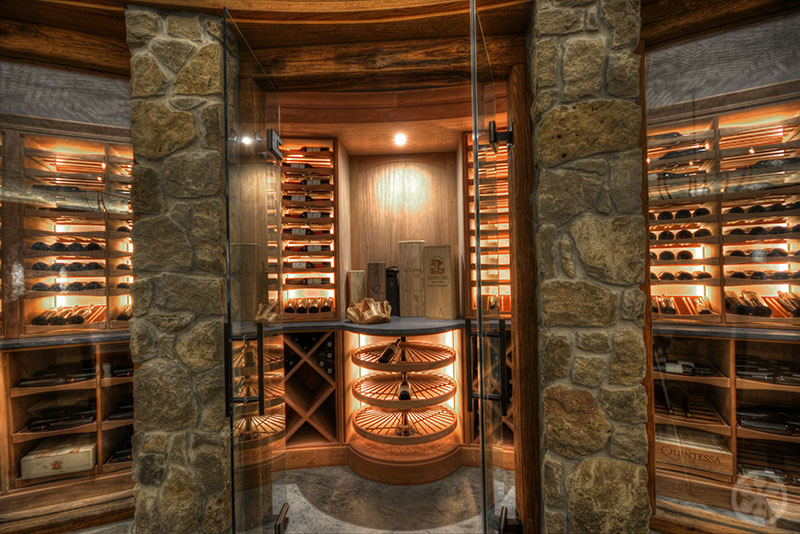 Inspiring Wine Cellars In Private Homes If Its Hip Its Here - 32 amazing examples home wine cellars