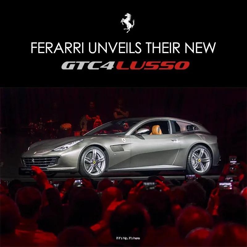 The Ferrari GTC4LUSSO