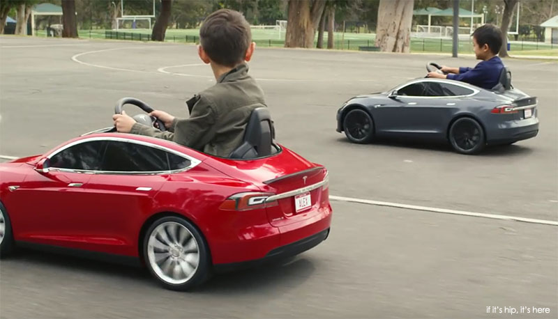 Radio Flyer Launches The Tesla S Model For Kids If It S Hip