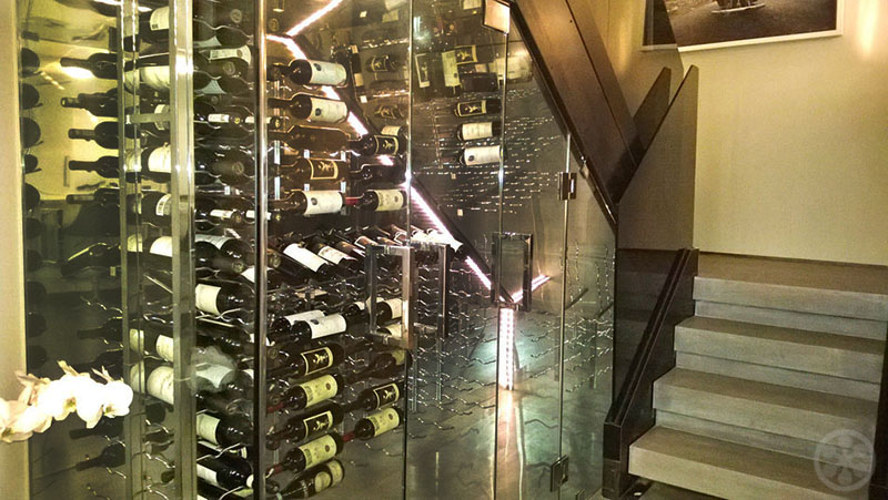 Inspiring Wine Cellars In Private Homes If It 39 S Hip It