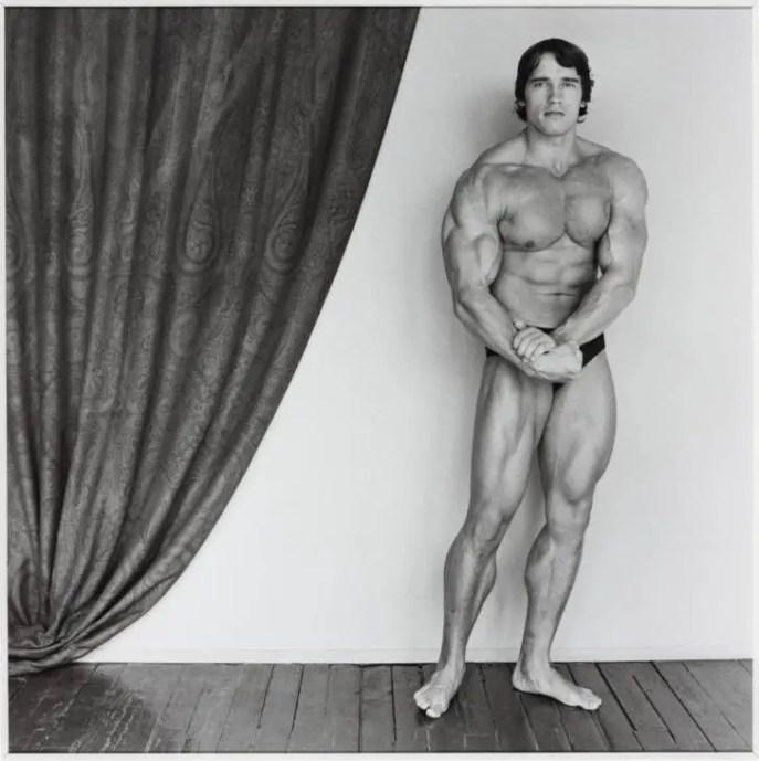 Robert Mapplethorpe Arnold Schwarzenegger 1976